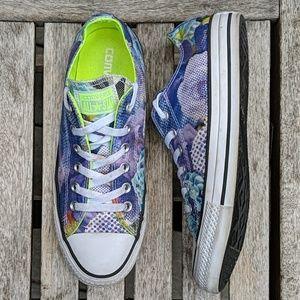 Converse Neon Pop Art Low Top Sneakers